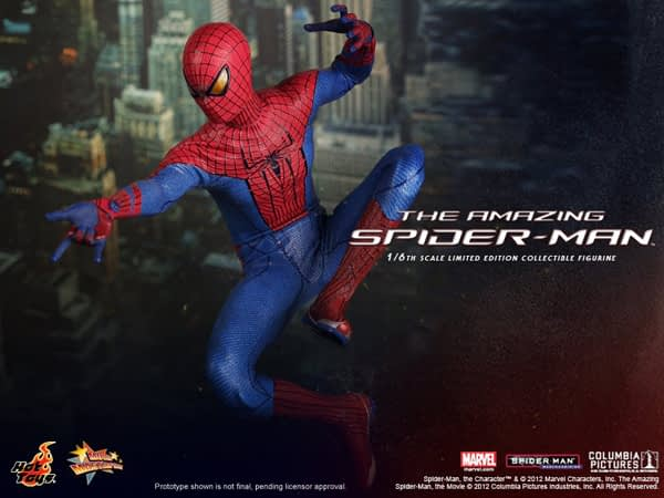 Preview | Hot Toys: Amazing Spiderman (10)