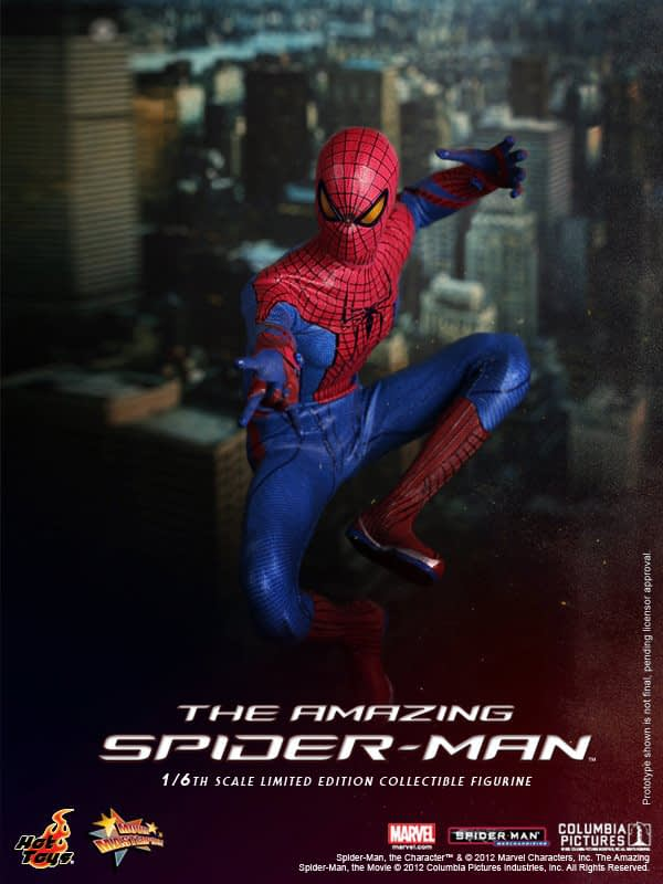 Preview | Hot Toys: Amazing Spiderman (13)