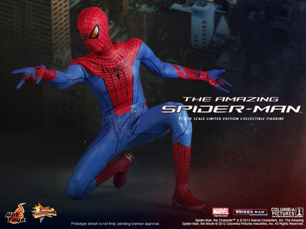 Preview | Hot Toys: Amazing Spiderman (5)