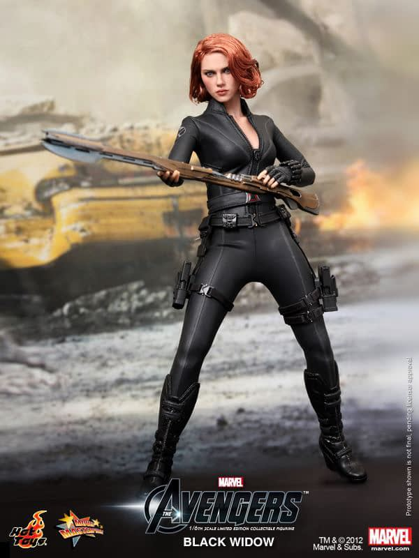 Preview   Hot Toys: Black Widow (6)