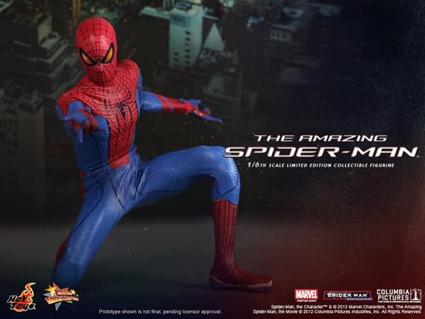 Preview | Hot Toys: Amazing Spiderman (8)