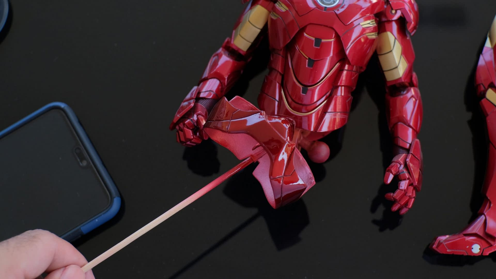 How to fix HT's Iron Man pink panty issue 61