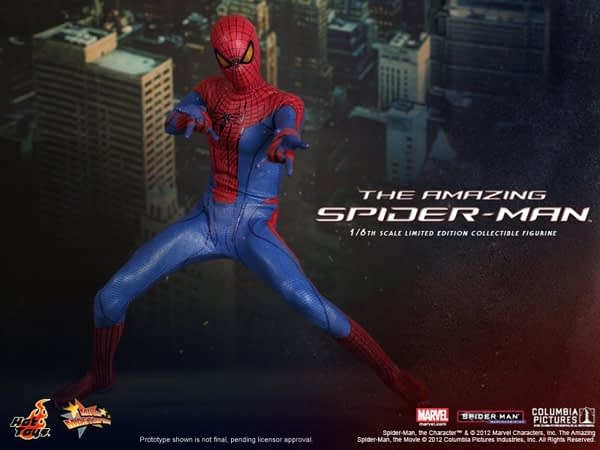 Preview | Hot Toys: Amazing Spiderman (15)