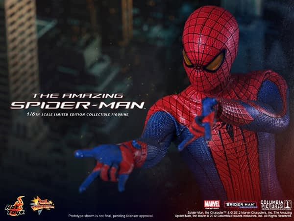 Preview | Hot Toys: Amazing Spiderman (3)