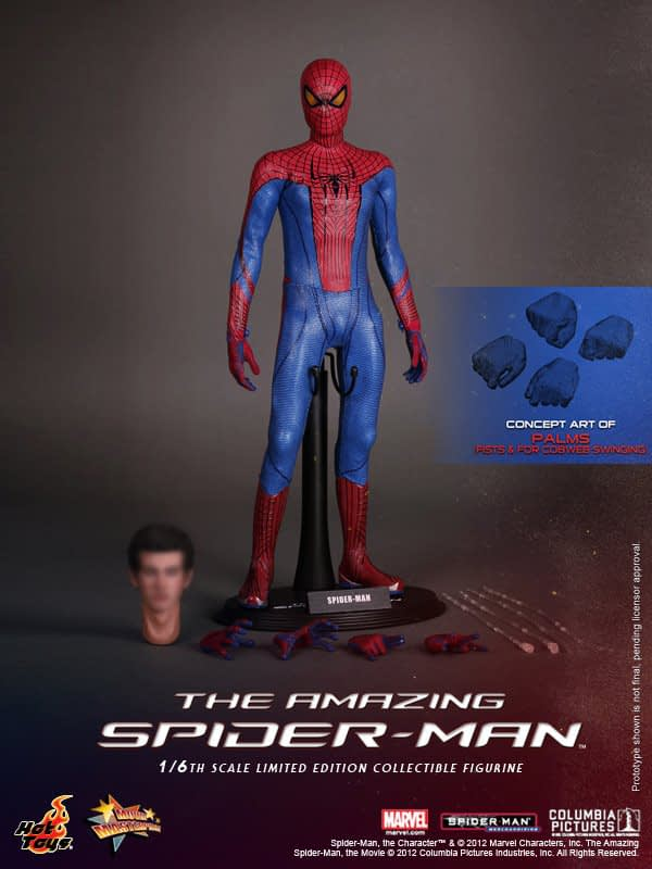 Preview | Hot Toys: Amazing Spiderman (17)