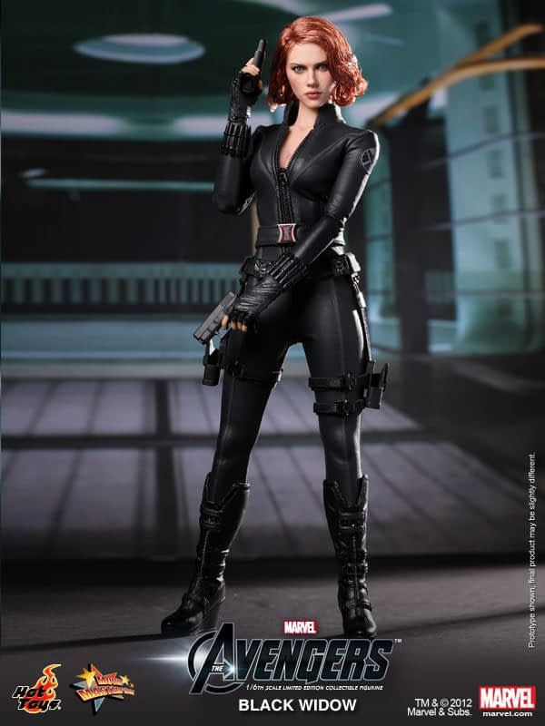 Preview   Hot Toys: Black Widow (16)