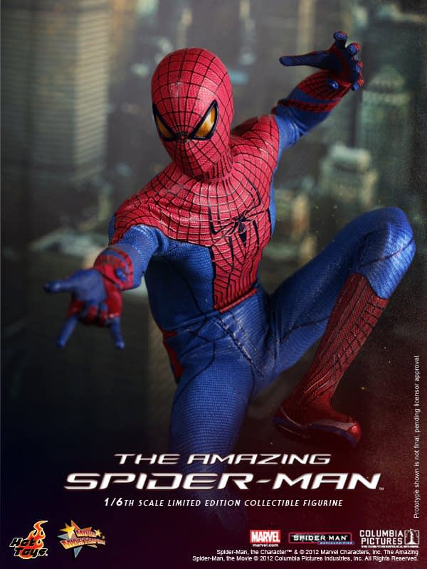 Preview | Hot Toys: Amazing Spiderman (9)