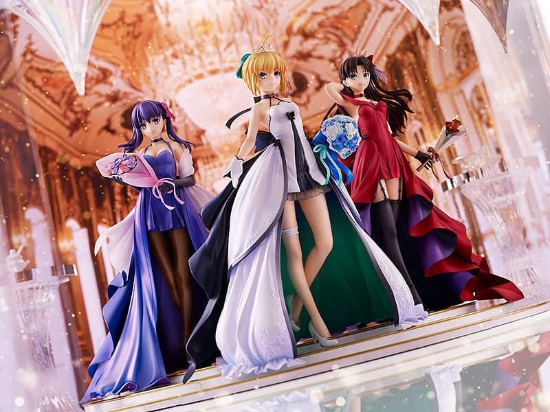 Fate/stay night 15th Celebration Figures 1