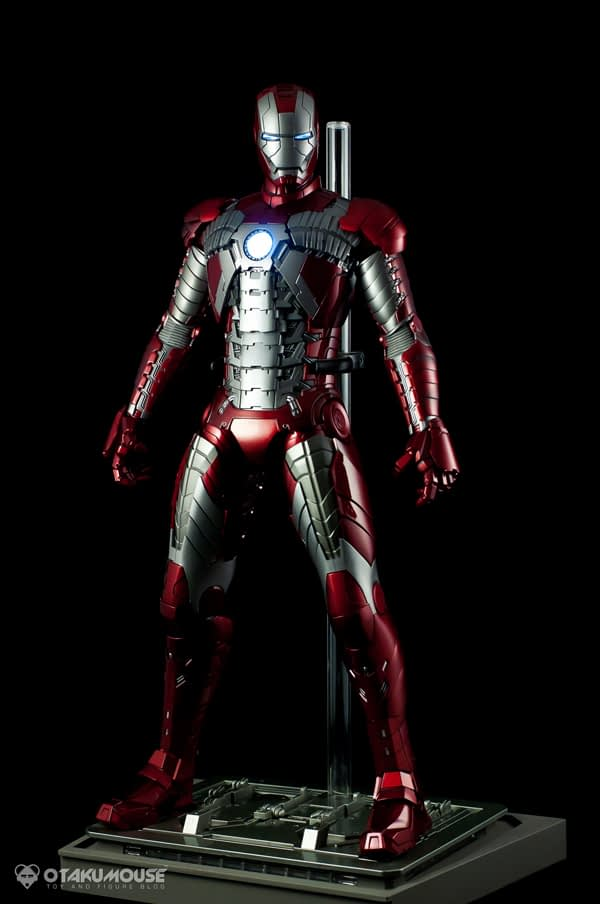 Review | Hot Toys: Ironman Mark V (65)