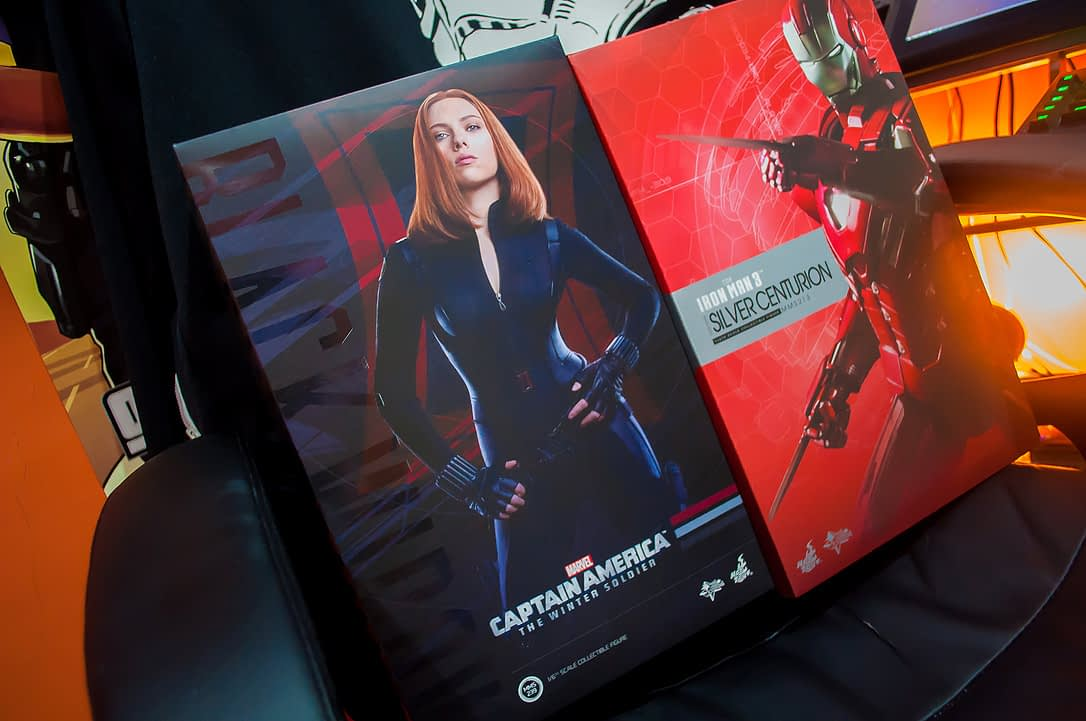 January 2015 Loot Report - Hot Toys Black Widow (Winter Soldier) and Mark XXXIII Silver Centurion (6)