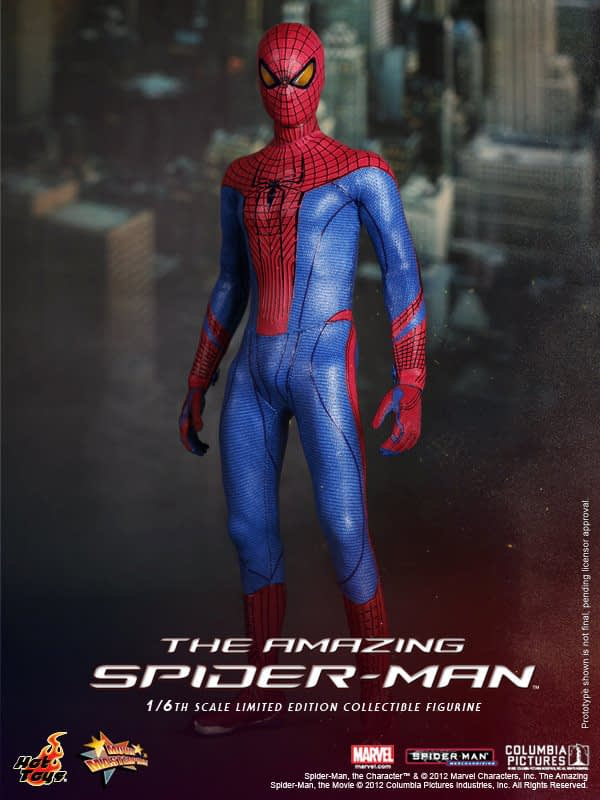 Preview | Hot Toys: Amazing Spiderman (11)
