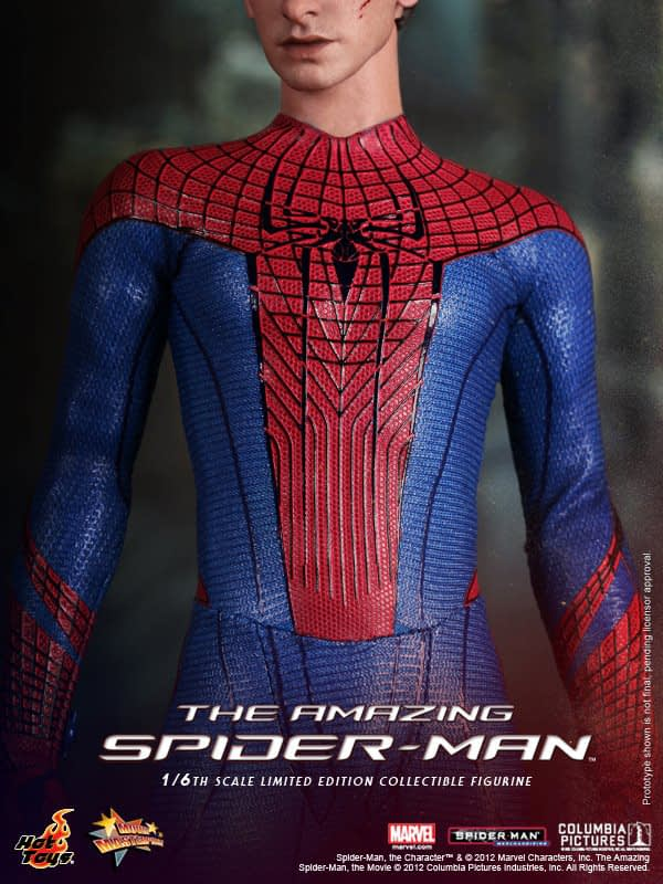 Preview | Hot Toys: Amazing Spiderman (12)
