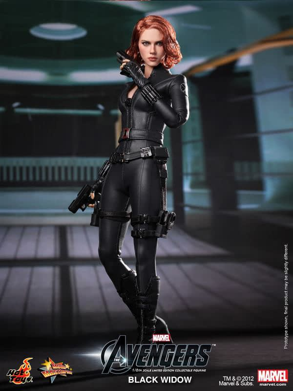 Preview   Hot Toys: Black Widow (8)