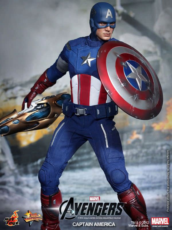 Preview   Hot Toys: Captain America (Avengers) (14)