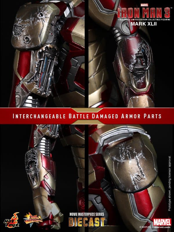 Preview | Hot Toys: Iron Man Mark XLII (Diecast) (14)