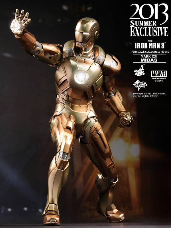 Preview | Hot Toys: Iron Man Mark XXI (Midas) (10)