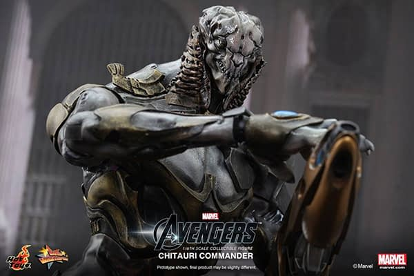 Preview   Hot Toys: Chitauri Commander (8)