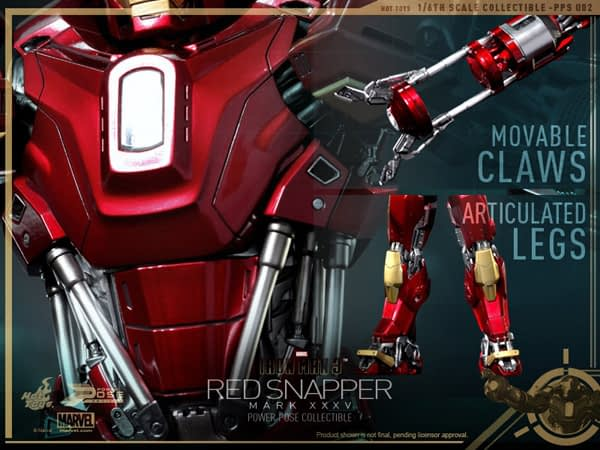 Preview | Hot Toys: Iron Man Mark 35 (Red Snapper) (11)