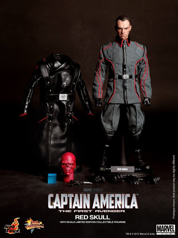 Preview   Hot Toys: Red Skull (3)