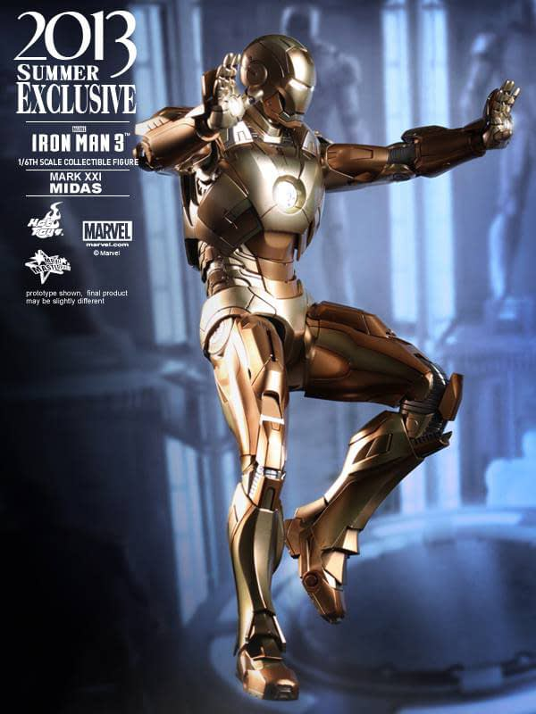 Preview | Hot Toys: Iron Man Mark XXI (Midas) (2)