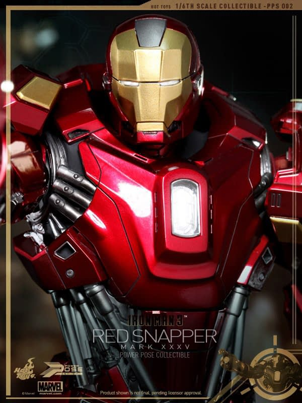 Preview | Hot Toys: Iron Man Mark 35 (Red Snapper) (13)