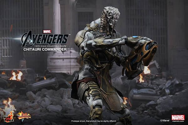Preview   Hot Toys: Chitauri Commander (6)