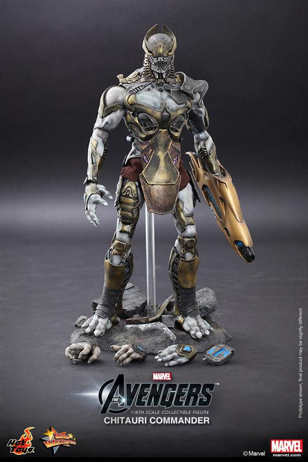 Preview   Hot Toys: Chitauri Commander (14)