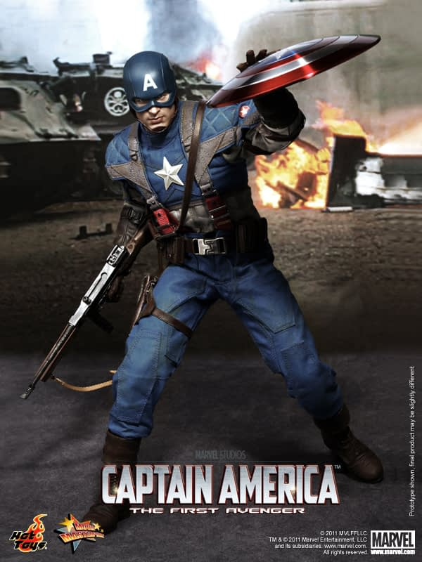 Preview | Hot Toys: Captain America (10)