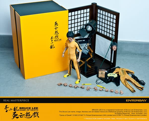 Enterbay: Bruce Lee Game Of Death (Behind The Scene) Edition (11)