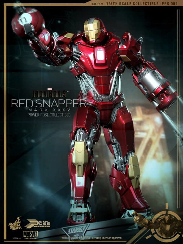 Preview | Hot Toys: Iron Man Mark 35 (Red Snapper) (4)