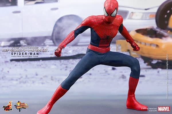 Preview   Hot Toys: Spider-Man (The Amazing Spider-Man 2) (6)