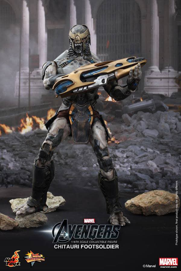 Preview | Hot Toys: Chitauri Footsoldier (2)
