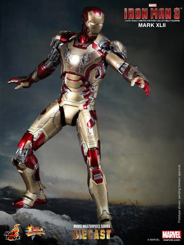 Preview | Hot Toys: Iron Man Mark XLII (Diecast) (5)