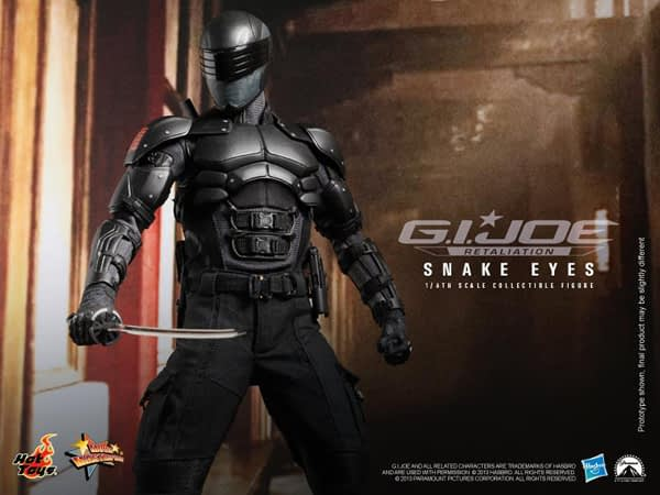 Preview | Hot Toys: Snake Eyes (11)