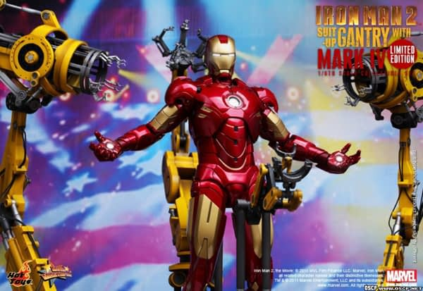 Preview | Hot Toys: Ironman 2 Limited Edition Suit Up Gantry (3)