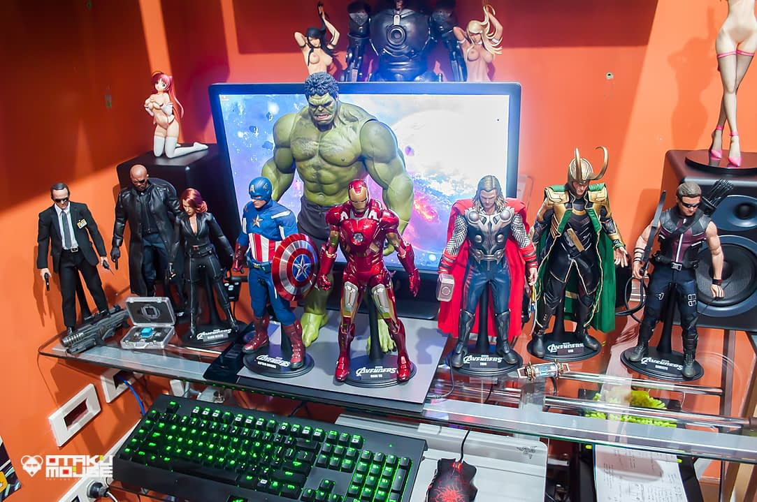 Hot Toys Avengers Line Complete (11)