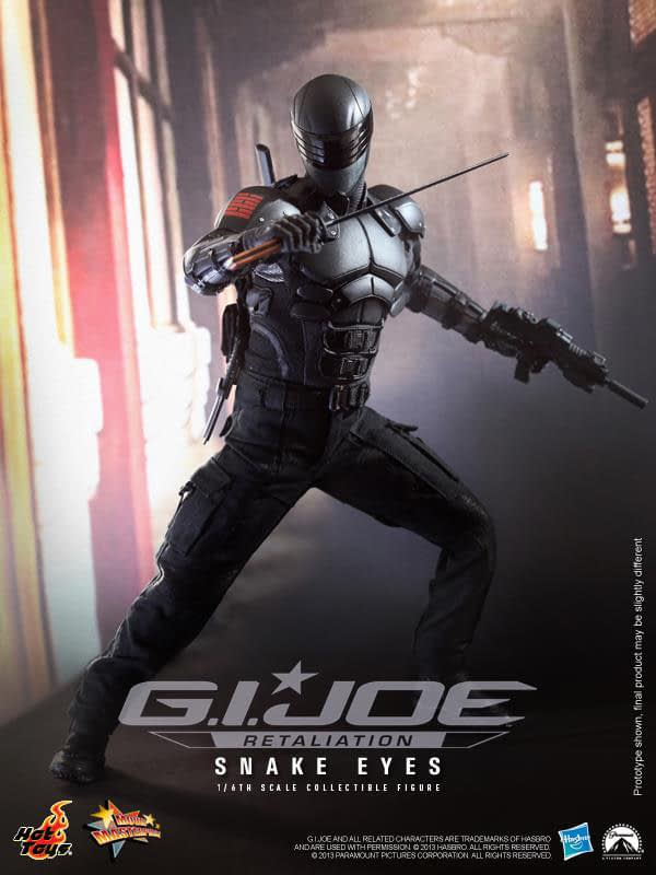 Preview | Hot Toys: Snake Eyes (4)
