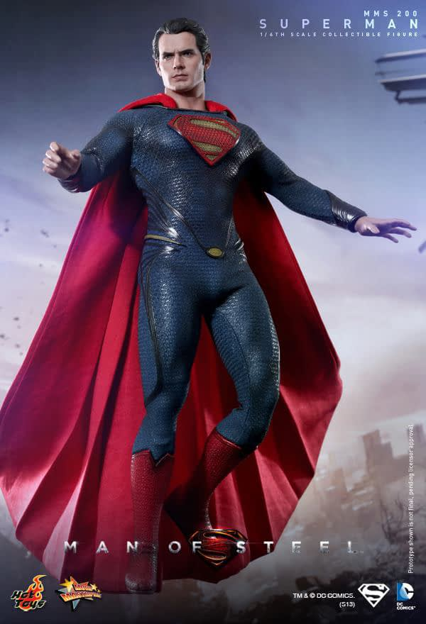 Preview | Hot Toys: Superman (Man Of Steel) (4)