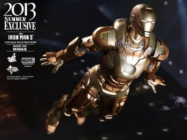 Preview | Hot Toys: Iron Man Mark XXI (Midas) (1)