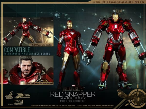 Preview | Hot Toys: Iron Man Mark 35 (Red Snapper) (14)