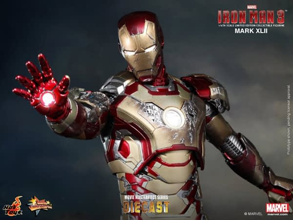 Preview | Hot Toys: Iron Man Mark XLII (Diecast) (10)