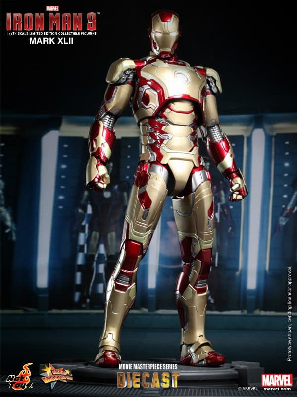 Preview | Hot Toys: Iron Man Mark XLII (Diecast) (1)