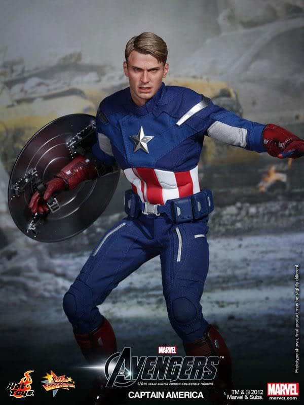 Preview   Hot Toys: Captain America (Avengers) (5)
