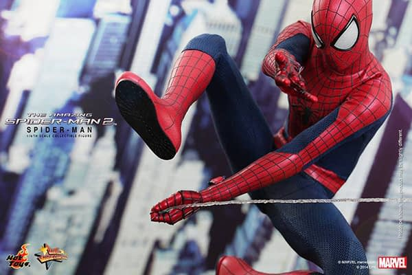 Preview   Hot Toys: Spider-Man (The Amazing Spider-Man 2) (7)