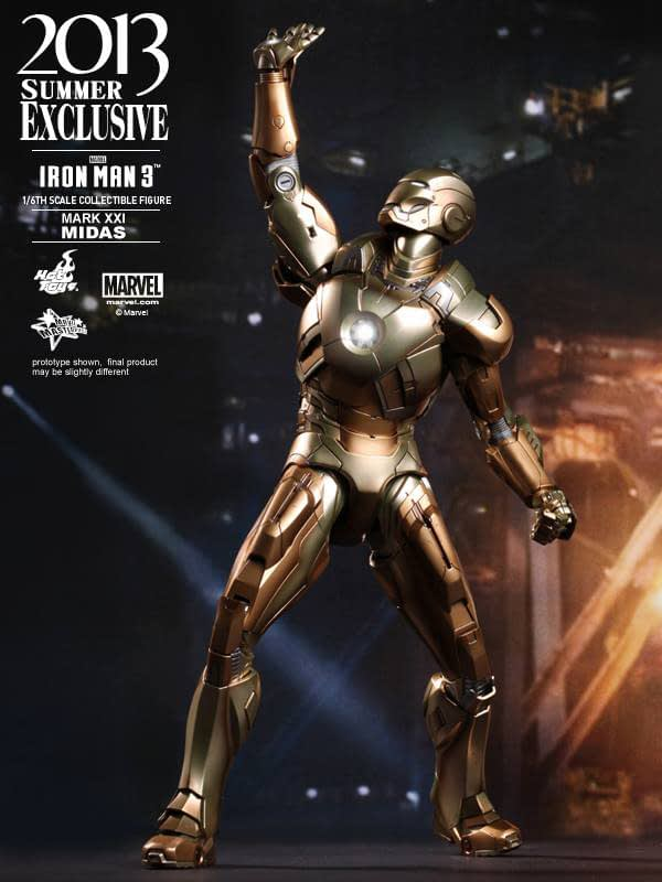 Preview | Hot Toys: Iron Man Mark XXI (Midas) (11)