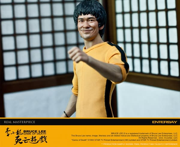 Enterbay: Bruce Lee Game Of Death (Behind The Scene) Edition (7)