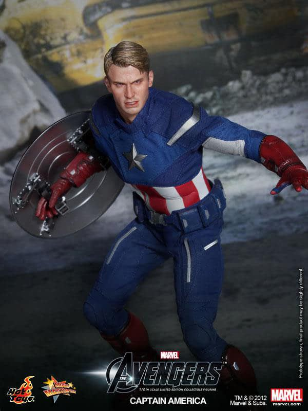 Preview   Hot Toys: Captain America (Avengers) (4)