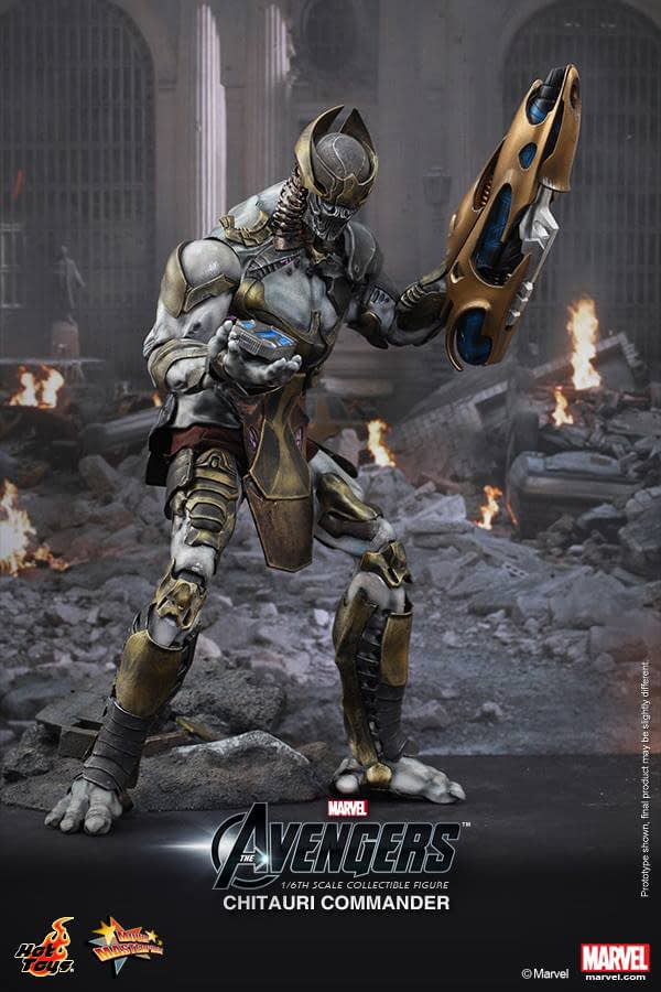 Preview   Hot Toys: Chitauri Commander (2)