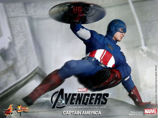 Preview   Hot Toys: Captain America (Avengers) (12)