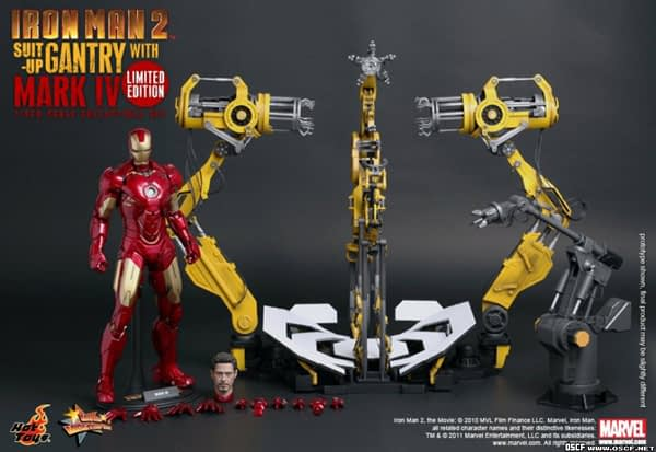 Preview | Hot Toys: Ironman 2 Limited Edition Suit Up Gantry (12)
